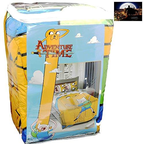 Adventure Time Kids Bro Hug Twin/Full Bedding Comforter Pillow Sham