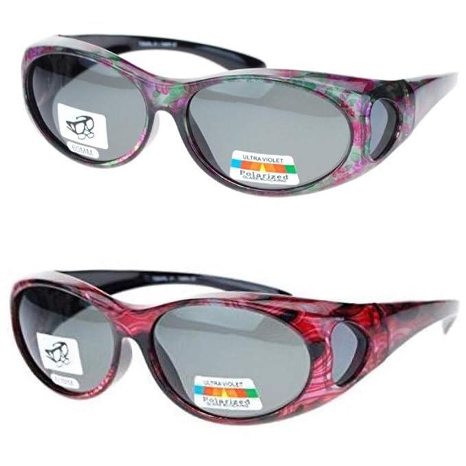 Amazon.com: 2 pares de gafas de sol polarizadas para colocar ...