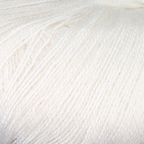 Rowan Fine Lace Yarn: White, 0944, 117