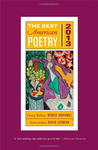 Download The Best American Poetry 2013 (The Best American Poetry series) PDF