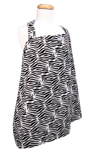 Trend Lab Nursing Cover, Zebra