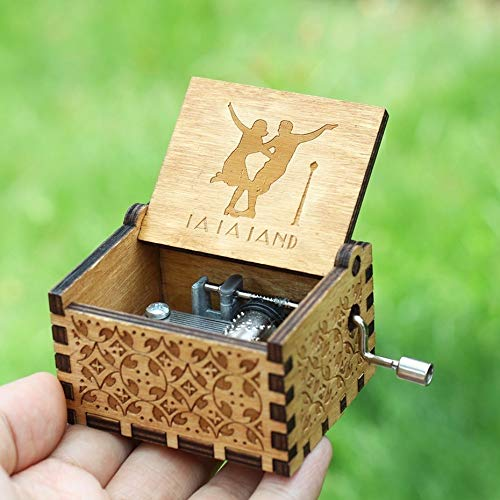 VDV Music Box - 18 Style Antique Carved Game of Thrones Music Box Star Wars Angels Love Beauty Music me a Birthday Present