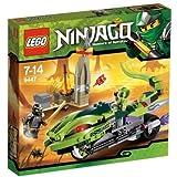 LEGO Ninjago 9447 - La Moto Venenosa de Lasha