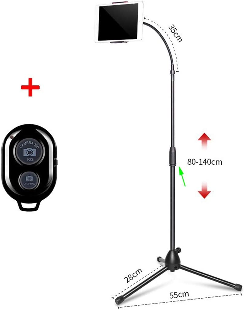 Color : for Phone, Size : Set3 ASJHK Lazy Bracket Mobile Phone Bedside Stand Floor Tripod Multi-Function Shooting Can Be Adjusted Up and Down for Cell Phone and Tablet Stand