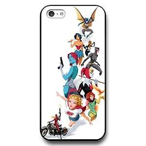 XiFu*MeiUniqueBox Customized Marvel Series Case for iphone 6 plua 5.5 inch, Marvel Comic Women Heroes iphone 6 plua 5.5 inch Case, Only Fit for Apple iphone 6 plua 5.5 inch (Black Hard Case)XiFu*Mei