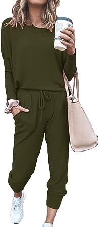 Meenew Casual Tie Dye 2 Piece Sweatsuit Pullover Sweatpant Jogger Set Loungewear