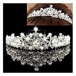 Angel Formal Dresses Women\'s Bridal Headpieces for Wedding with Rhinestone