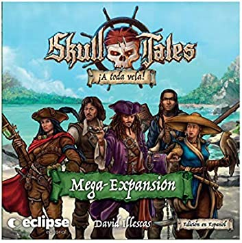 Eclipse Skull Tales A Toda Vela: Mega Expansion - Juego de Mesa ...