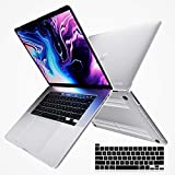 i-Blason Halo V2.0 Case for MacBook Pro 16 inch (2019 Release), Ultra Slim Translucent Hard Case Protective Clear Cover for New MacBook Pro 16' with Touch Bar and Touch ID (Frost/Clear)