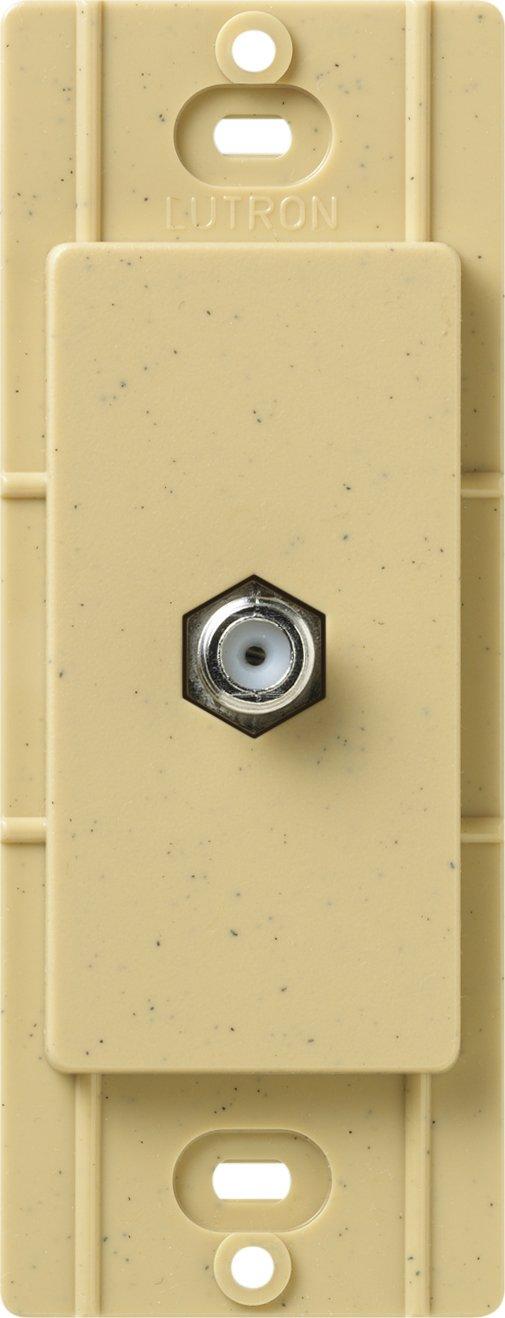 Lutron SC-CJ-PD Satin Colors Cable Jack, Palladium