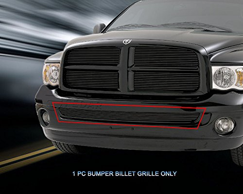 Fedar Lower Bumper Overlay Billet Grille Insert for 2002-2008 Dodge Ram Regular ()