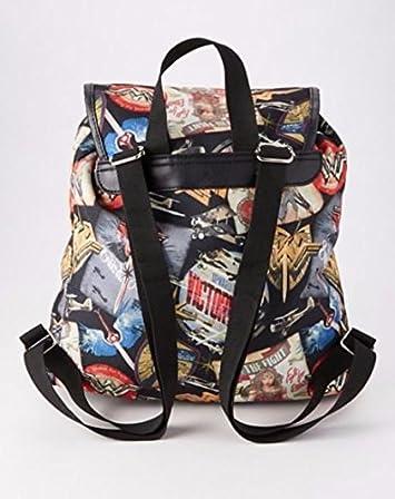 Wonder Woman Bomber Poster Knapsack Backpack