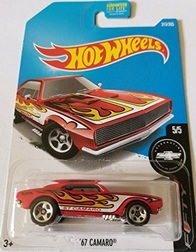Hot Wheels 2017 Camaro Fifty '67 Camaro 313/365, Red - Camaro Cross