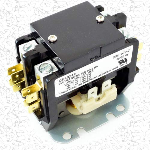 Replacement for Carrier Double (2) Two Pole 40 Amp Replacement Condenser Contactor P282-0421 by Replacement for Carrier