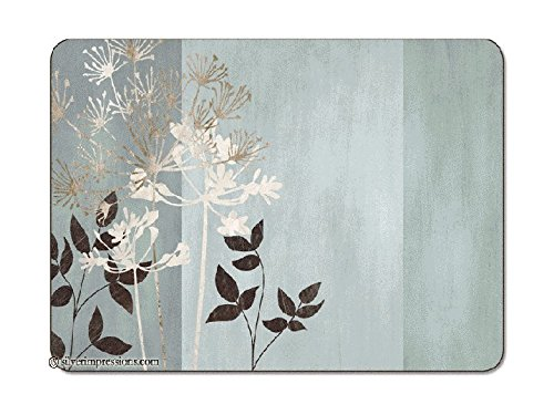 Jason Allium, Set of 6 Small Placemats (8.5''x11.5'')
