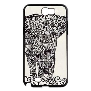 Aztec Elephant ZLB532034 Brand New Case for Samsung Galaxy Note 2 N7100, Samsung Galaxy Note 2 N7100 Case
