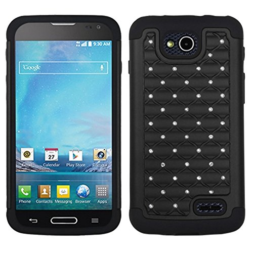 ector Cover for LG D415 Optimus L90 - Retail Packaging - Black ()