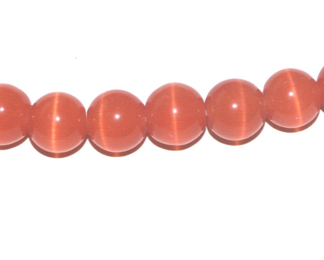 Aqua Markylis 95 4mm Cats Eye Glass Beads