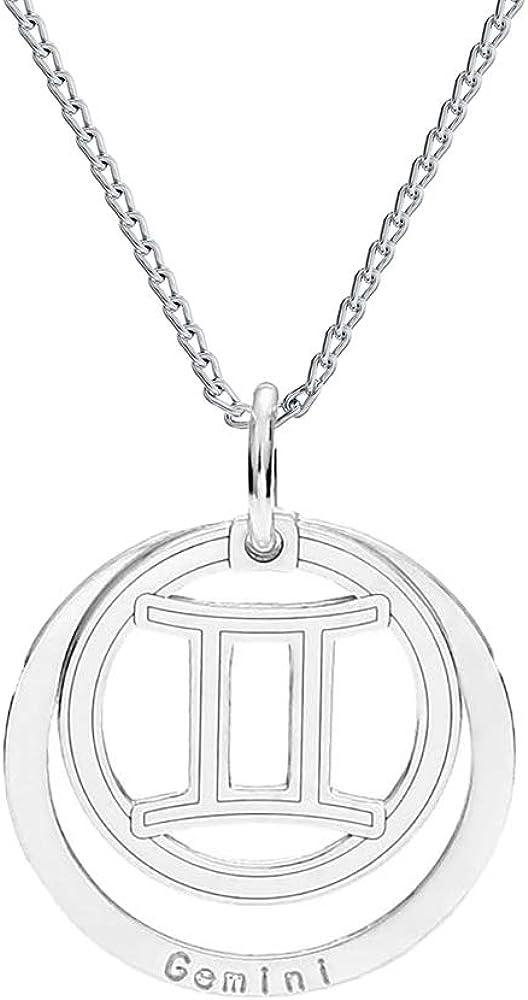 Farfalla Rossa - Collar con colgante y cadena de plata de ley 925 con colgante y estuche para joyas: Amazon.es: Joyería