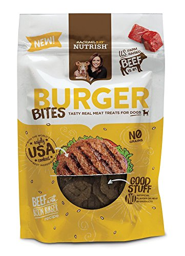 Burger Bites Dog Treats