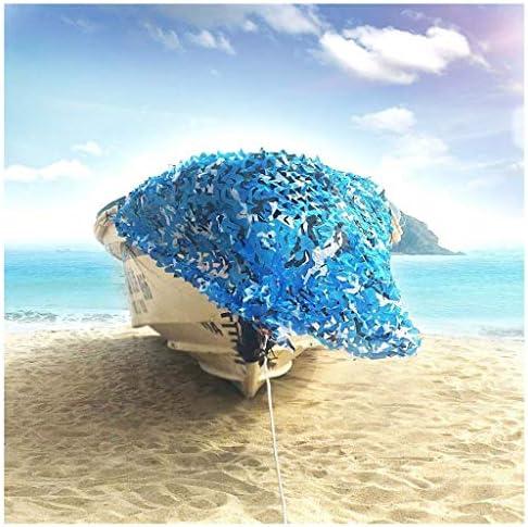 Camo Tarnnetz – Ideal als Sonnenschutz Tarnung Sichtschutz – Für Bars Garten Camping Freizeit Tierbeobachtung und vieles mehr - Camouflage, Tarnnetz Ozean Verschiedene Größen