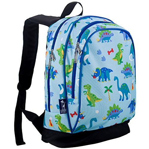 pack, Extra Durable Backpack with Padded Straps and Interior Moisture-Resistant Lining, Perfect for School or Travel, Olive Kids Design – Dinosaur Land (Kids Dinosaur Backpack)