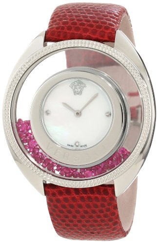 Versace-Womens-86Q971MD497-S800-Destiny-Precious-Mother-of-Pearl-Stainless-Steel-Red-Watch