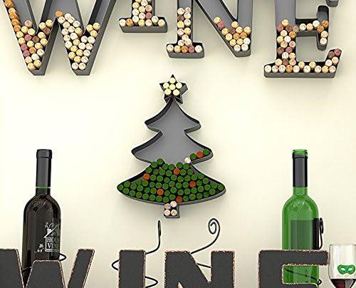 Christmas Tree Set of 2 Glass Wine Bottle Stopper
