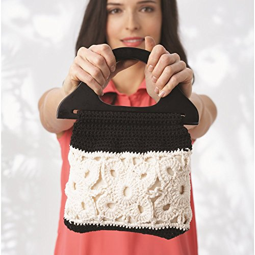Lily Sugar'n Cream Cotton Cone Yarn, 14 oz, Black , 1 Cone by Lily (Image #7)