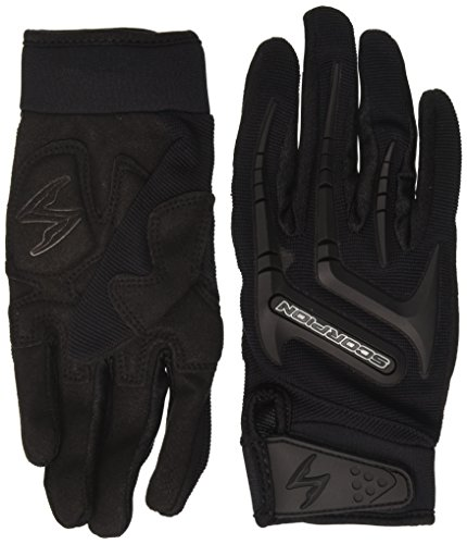 Street Riding Gloves (ScorpionExo Women's Skrub Gloves(Black, Small), 1 Pack)