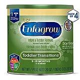 Enfagrow Toddler Transitions Soy Formula - Milk & Lactose Free - Powder Can, 20 oz (Pack of 4)