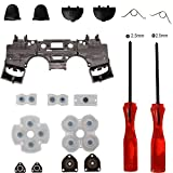 Cheap Timorn Replacement Parts Trigger Buttons Parts with Springs+ Rubber Conductive Pad + Inner Frame Internal Support+ Tri-wing +Cross Screwdriver for Playstation 4 PS4 Wireless Controller (1set)