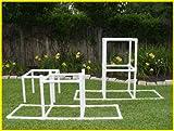 "Image of Dog Walk Bases - Adjustable 24"" & 48"" -Dog Agility Equipment"