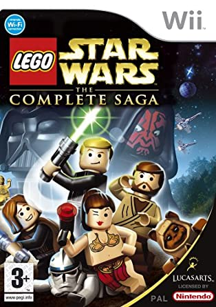 Lego Star Wars: The Complete Saga (Wii): Amazon.co.uk: PC & Video Games