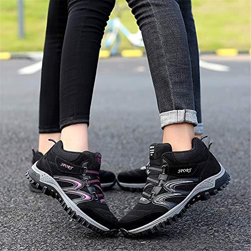 Donna Nero Trekking Uomo Tqgold rosso B Arrampicata Impermeabile Sportive Scarpe Sneakers All'aperto Da Escursionismo Stivale 6wBfI