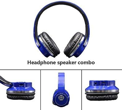 ZXY Auriculares inalámbricos 2 en 1, Auriculares con cancelación de Ruido sobre el oído con micrófono