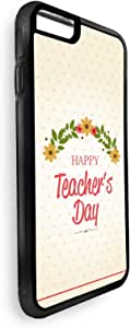 ديكالاك ابل ايفون 8 ,كفر حماية خلفي ,بطبعة عيد معلم سعيد  ,متعدد الالوان ,CVIP8-02211