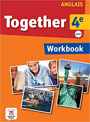 Amazon Fr Anglais 4e A2 B1 Together Workbook Katherine