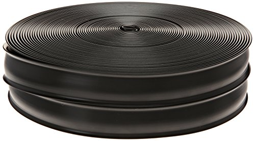 RV Designer E469, Heavy Duty Vinyl Insert Trim, 1 inch Wide, 100 foot Roll, (Black Insert)