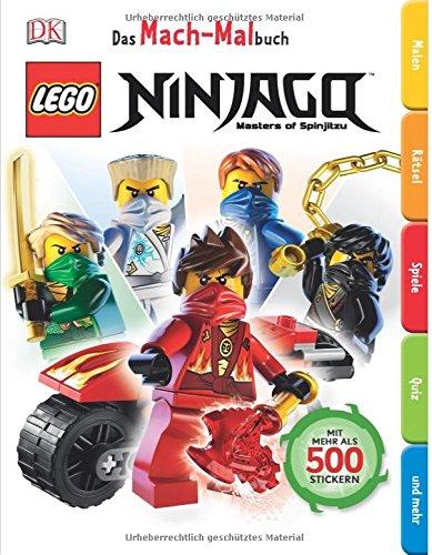 Lego® ninjagotm el Mach de libro para colorear + Lego® ninjagotm Cuaderno: Carrera con el tiempo