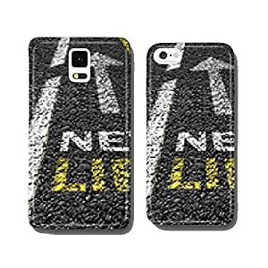 new life on the asphalt road cell phone cover case iPhone6