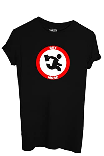 T-SHIRT BUY MORE CHUCK-DIVERTENTE by MUSH Dress Your Style