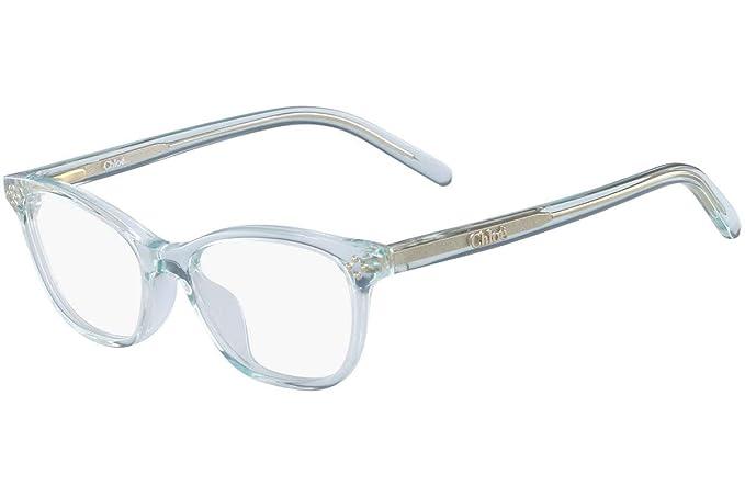 21b9c36953c CHLOE  Unisex Kids  CE3610 Optical Frames Turquoise (Aqua) 47.0 ...