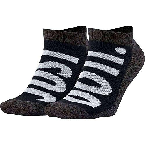 Calcetines Nike �?Sportswear No-Show (2 Pair) negro/blanco/carbón talla: 42 al 46 EU I 8-12 USA I 8-11 UK