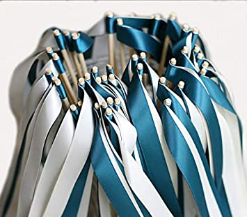 Amazon.com: Cheonus - 50 bandas de boda con doble cinta, sin ...
