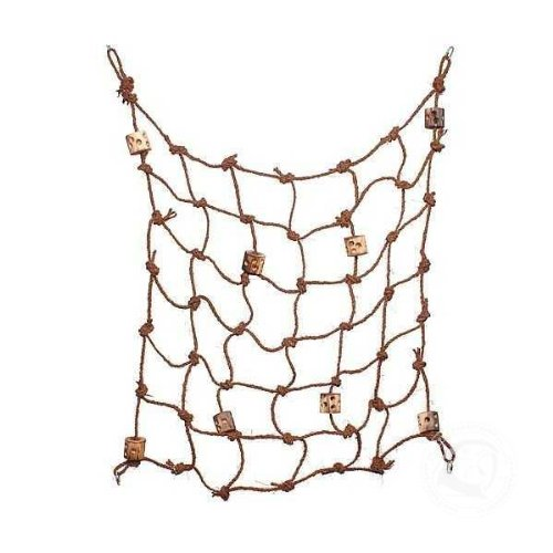 Parrotopia Jungle Fever Rope 31in x 28in by Parrotopia