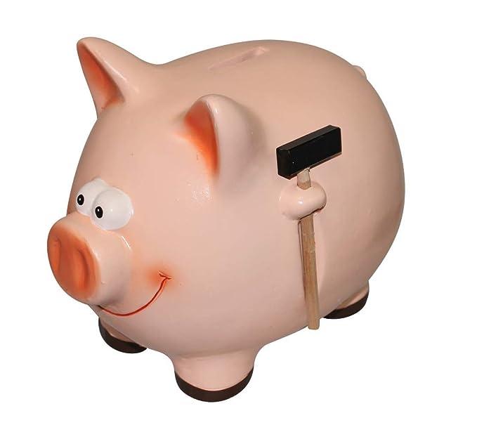 1 opinioni per Maialino rosa, con il salvadanaio in ceramica a forma di maialino risparmiare è