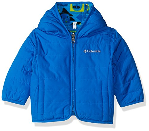 Columbia Unisex Baby Infant Double Trouble Jacket, Super Blue Critters Print, 3/6