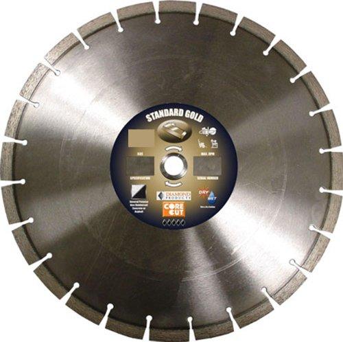 Diamond Products 57707 12-Inch Standard Gold High Speed Diamond (12' Cut Off Saw)