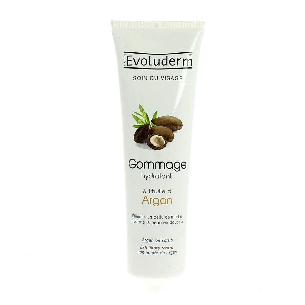 Evoluderm - Exfoliante Facial Aceite de Argán Evoluderm 150 ml